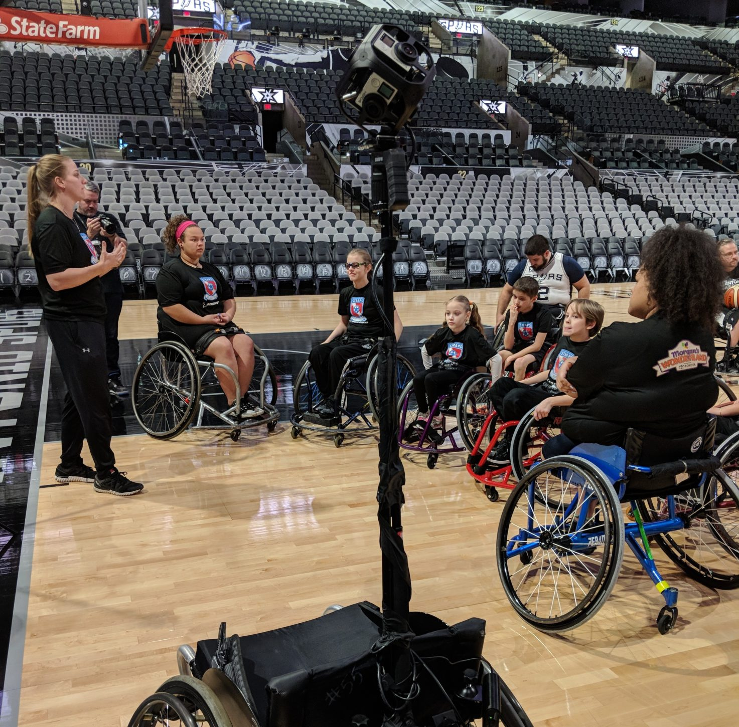 IMG Studio Develops First VR Basketball Game for Adaptive, Paralympic Sports